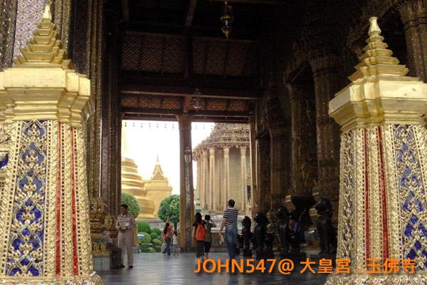 大皇宮(Grand Palace)和玉佛寺(Wat Phra Kaeo)泰國曼谷17