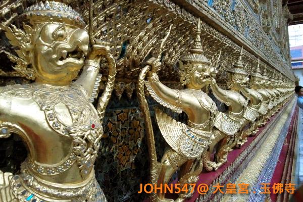 大皇宮(Grand Palace)和玉佛寺(Wat Phra Kaeo)泰國曼谷20