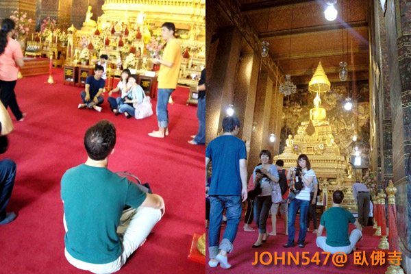 臥佛寺(Wat Pho)Bangkok Thai泰國曼谷9