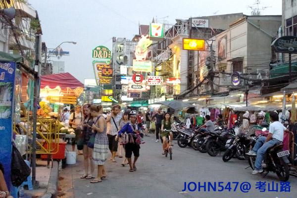 考山路Khao San Road 泰國曼谷拷山路(考桑路)14
