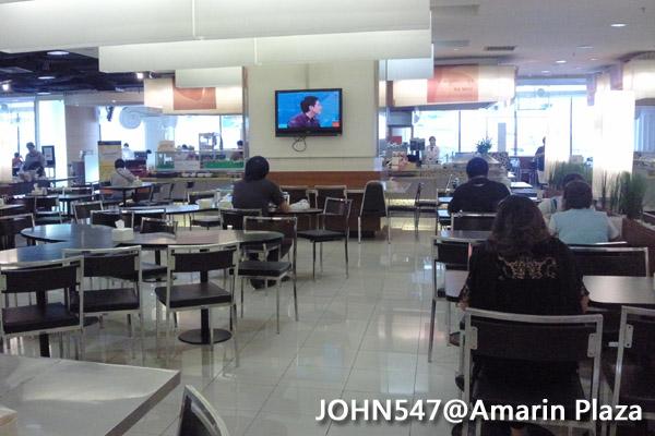 泰國曼谷Amarin Plaza捷運邊百貨chit lom站 美食街1