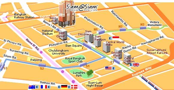 Siam (暹羅廣場) 週邊 泰國曼谷百貨2