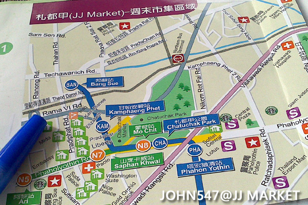 JJ MARKET MAP