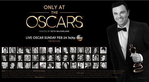 電影《熊麻吉》的導演、配音賽思麥克法蘭,擔綱本屆奧斯卡頒獎典禮主持人