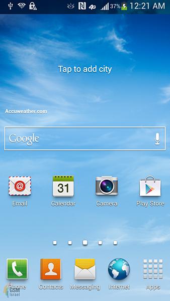 Samsung Galaxy S4 更多螢幕截圖洩漏1