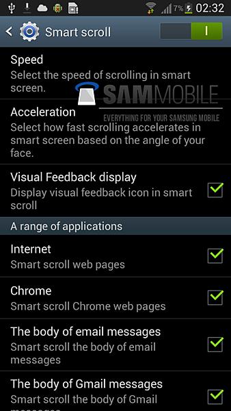 Samsung Galaxy S4 更多螢幕截圖洩漏6