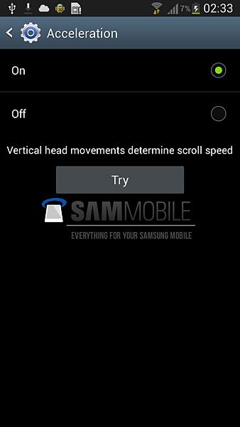 Samsung Galaxy S4 更多螢幕截圖洩漏8
