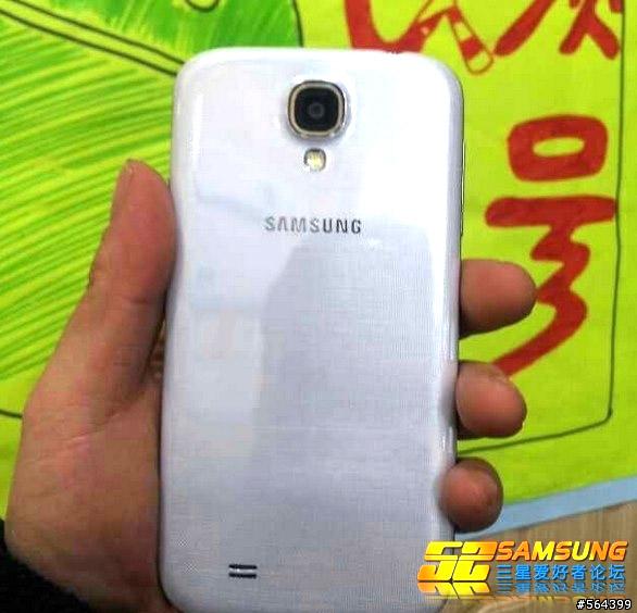 Samsung GALAXY S4真機曝光1