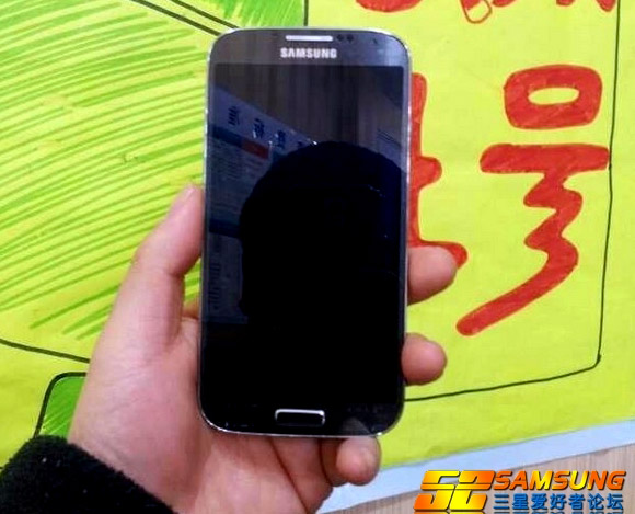 Samsung GALAXY S4真機曝光