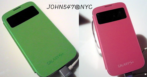 Galaxy S4 Accessories 配件S視窗皮套S view cover JOHN2