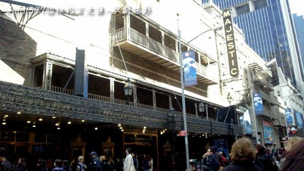 紐約百老匯The Phantom of the Opera歌劇魅影2