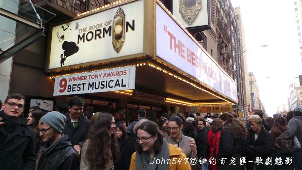 紐約百老匯The Phantom of the Opera歌劇魅影9