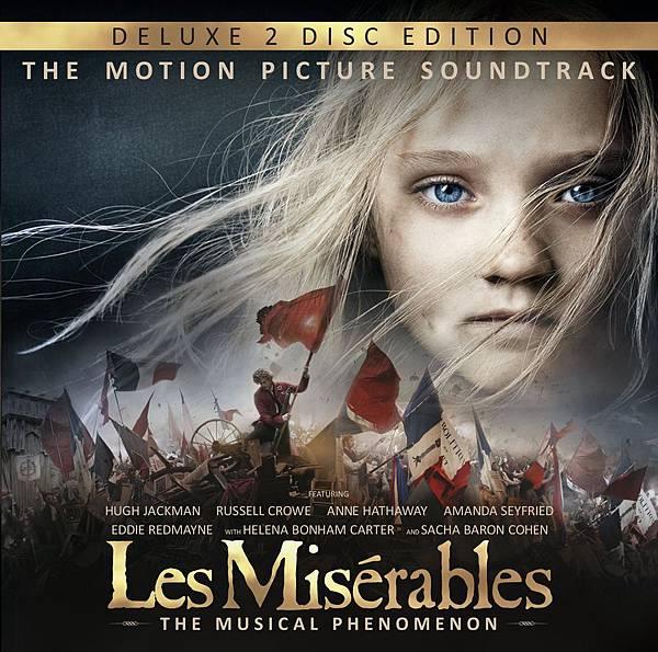 悲慘世界 2CD典藏盤電影原聲帶 Les Miserables Deluxe Edition