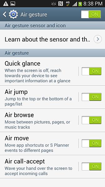 Air gesture懸浮手勢 截圖2