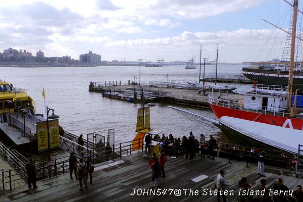 紐約觀光景點 Staten Island Ferry史坦頓島渡輪到自由女神像5