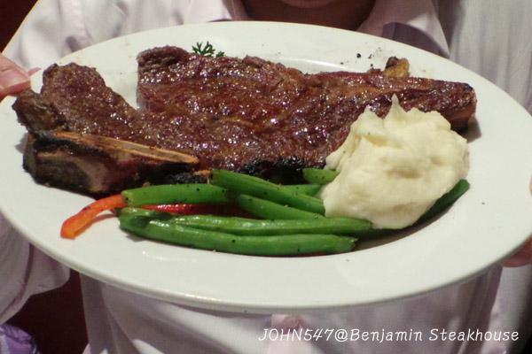 紐約 Benjamin Steakhouse 班傑明牛排館5a