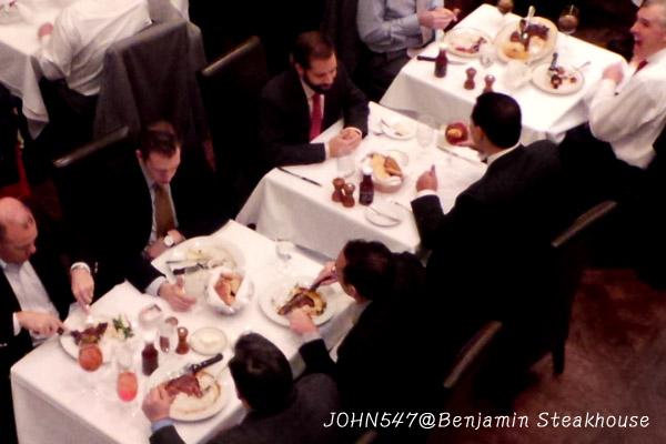 紐約 Benjamin Steakhouse 班傑明牛排館11