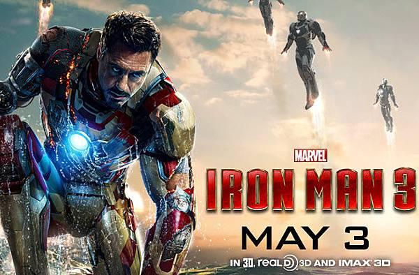 Iron Man 3 鋼鐵人3 poster2