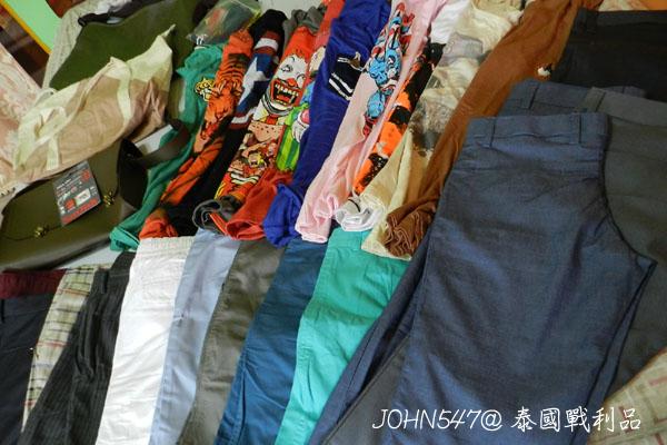 泰國曼谷買什麼 小約翰血拼創意T恤.短褲戰利品