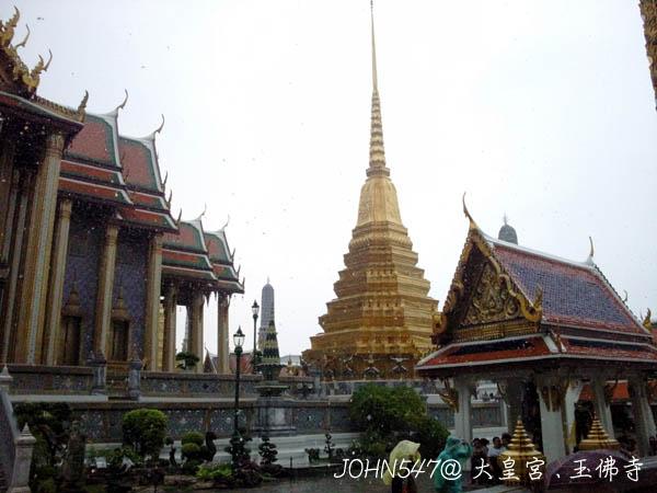 大皇宮(Grand Palace)、玉佛寺
