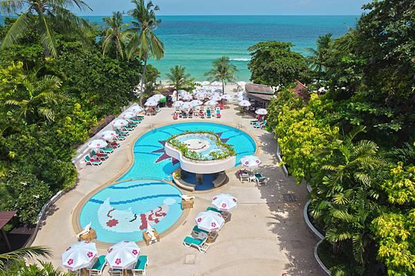蘇梅島住宿 Chaba Samui Resort (蘇梅島暹芭度假酒店) 2