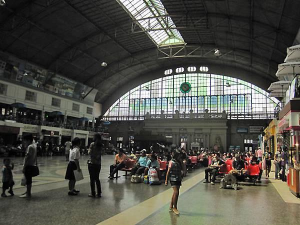 曼谷中央車站(Hua Lamphong華藍蓬車站)