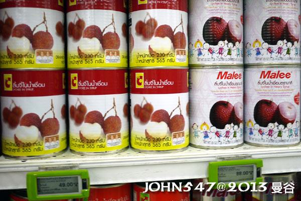 泰國自由行必買BIG C-水果罐頭2