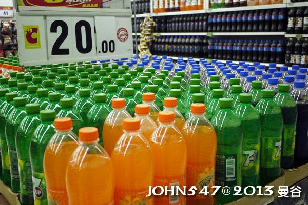 泰國自由行必買BIG C飲品-汽水