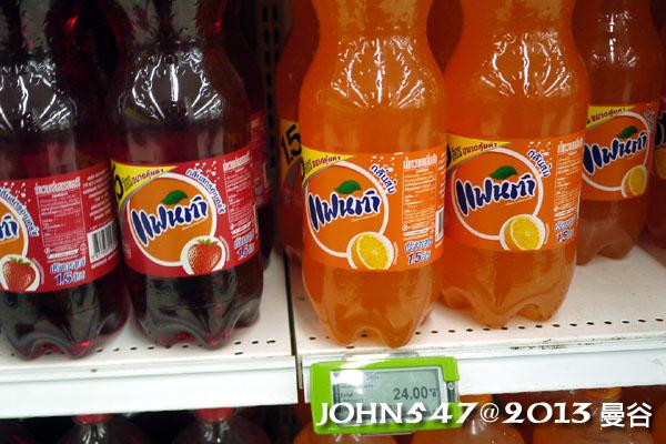 泰國自由行必買BIG C飲品-果汁汽水