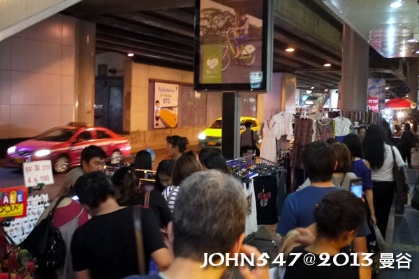 泰國曼谷 BTS莎拉當站周邊夜市 Sala daeng2