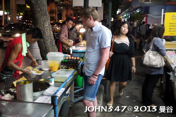 泰國曼谷 BTS莎拉當站周邊夜市 Sala daeng