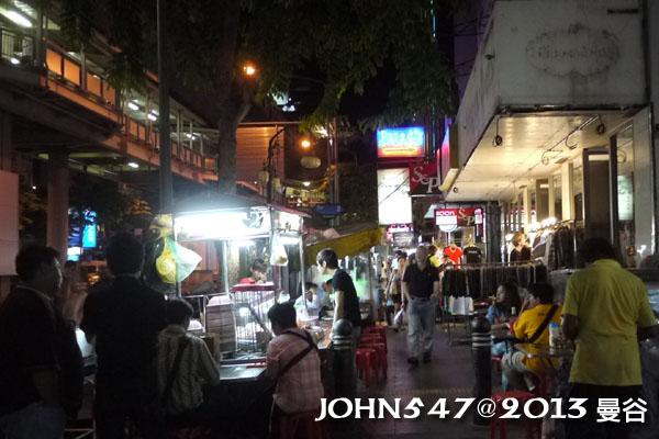 泰國曼谷 BTS莎拉當站周邊夜市 Sala daeng6