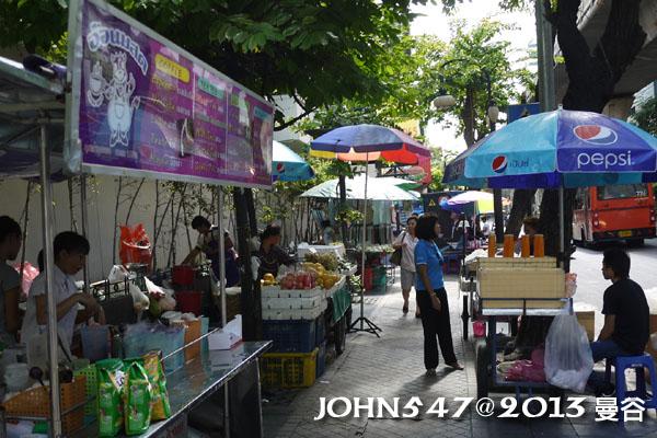 泰國曼谷 BTS莎拉當站周邊夜市 Sala daeng9