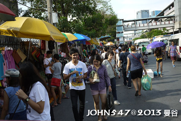 恰圖恰週末市集(札都甲Chatuchak weekend market)MO CHIT站