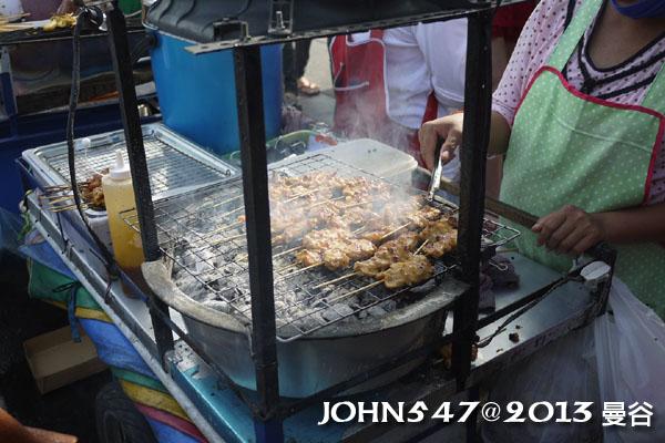 恰圖恰週末市集(札都甲Chatuchak weekend market)烤肉