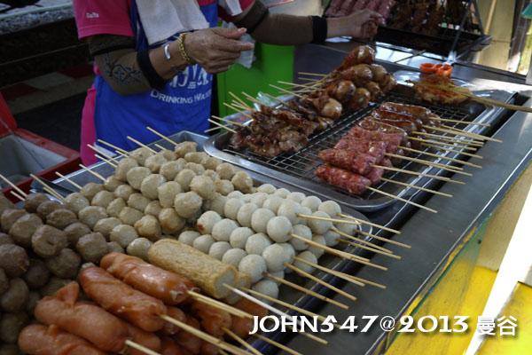 泰國 大城 Ayutthaya 阿育塔亞-3.火車月台烤肉