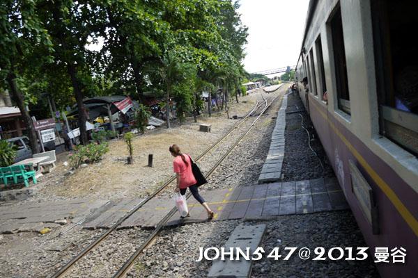 泰國 大城 Ayutthaya 阿育塔亞-7.小站