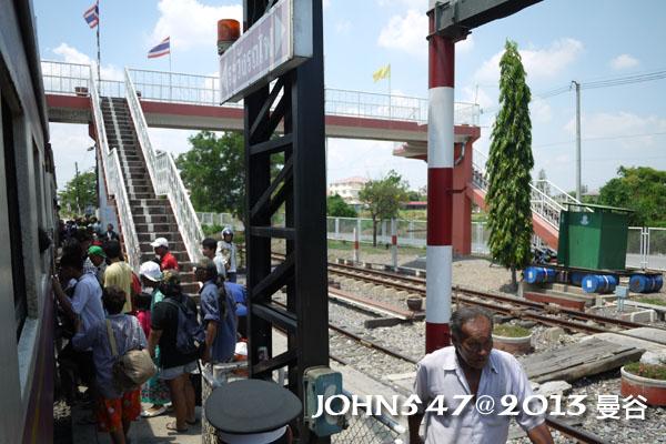 泰國 大城 Ayutthaya 阿育塔亞-8.火車站