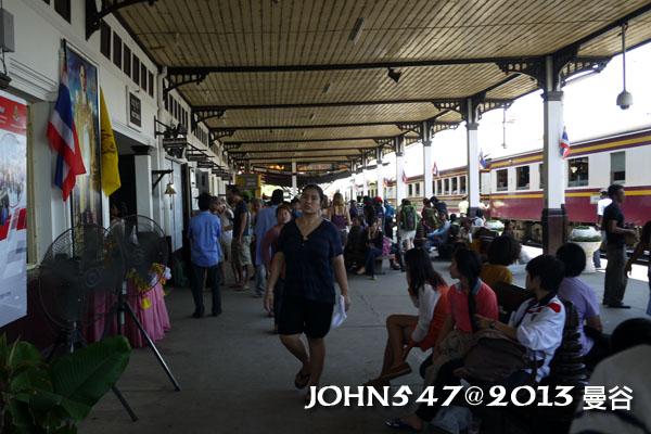 泰國 大城 Ayutthaya 阿育塔亞-9.大城火車站2