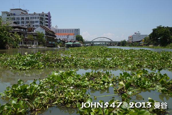 泰國 大城 Ayutthaya 阿育塔亞-11.搭船過河3