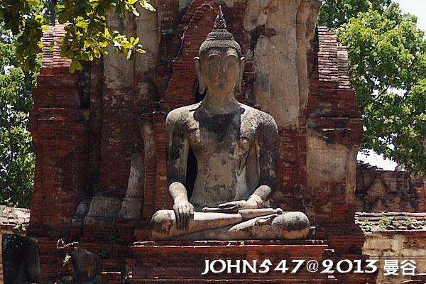 泰國 大城 Ayutthaya 阿育塔亞-14.瑪哈泰寺 Wat Mahathat4