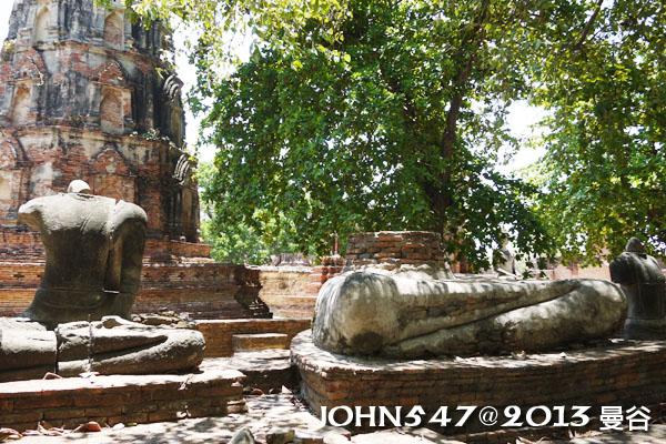 泰國 大城 Ayutthaya 阿育塔亞-14.瑪哈泰寺 Wat Mahathat3