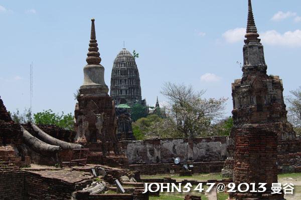 泰國 大城 Ayutthaya 阿育塔亞-14.瑪哈泰寺 Wat Mahathat7