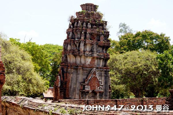 泰國 大城 Ayutthaya 阿育塔亞-14.瑪哈泰寺 Wat Mahathat9