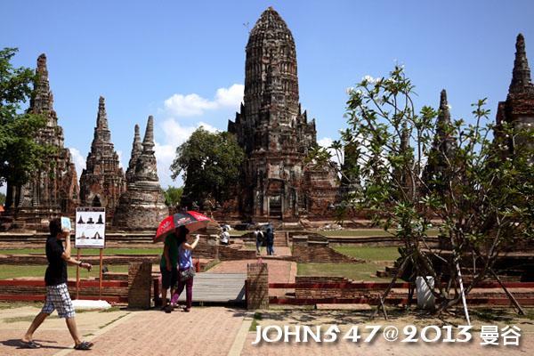 泰國 大城 Ayutthaya 阿育塔亞-22.柴瓦塔娜蘭寺 Wat Chai watthanaram