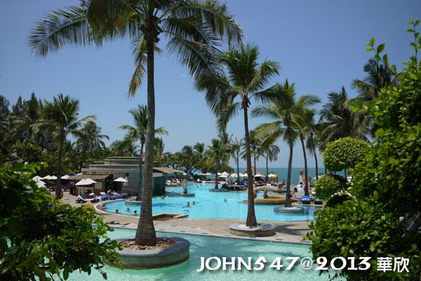 泰國華欣海灘Hua Hin Beach9hilton希爾頓飯店4