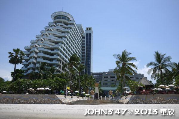泰國華欣海灘Hua Hin Beach9hilton希爾頓飯店3