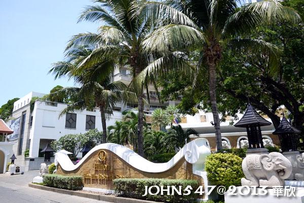 泰國華欣海灘Hua Hin Beach9hilton希爾頓飯店