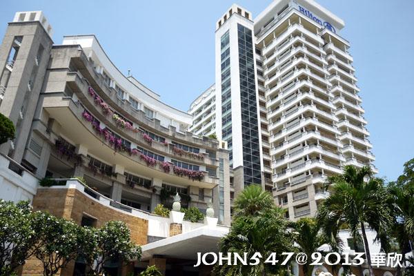 泰國華欣海灘Hua Hin Beach9hilton希爾頓飯店2