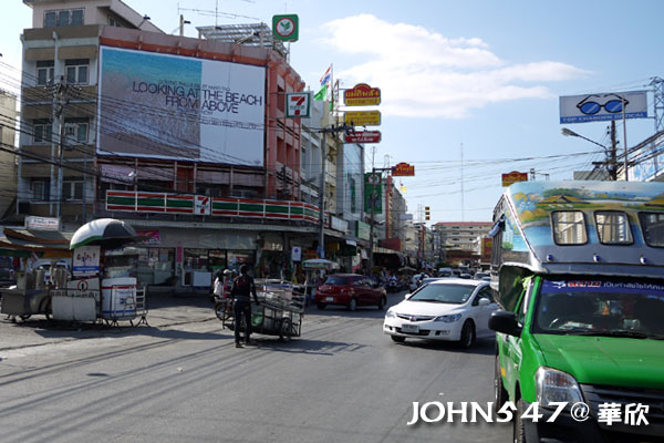 泰國華欣Hua Hin懷舊小鎮Plearn Wan 1.搭車處